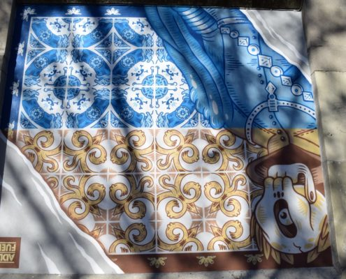 Street Art Muros Tabacalera Madrid