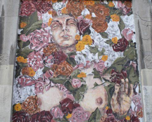 Street Art-Gemälde von Casassola
