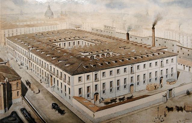 La Tabacalera - Die Tabakfabrik in Lavapiés früher