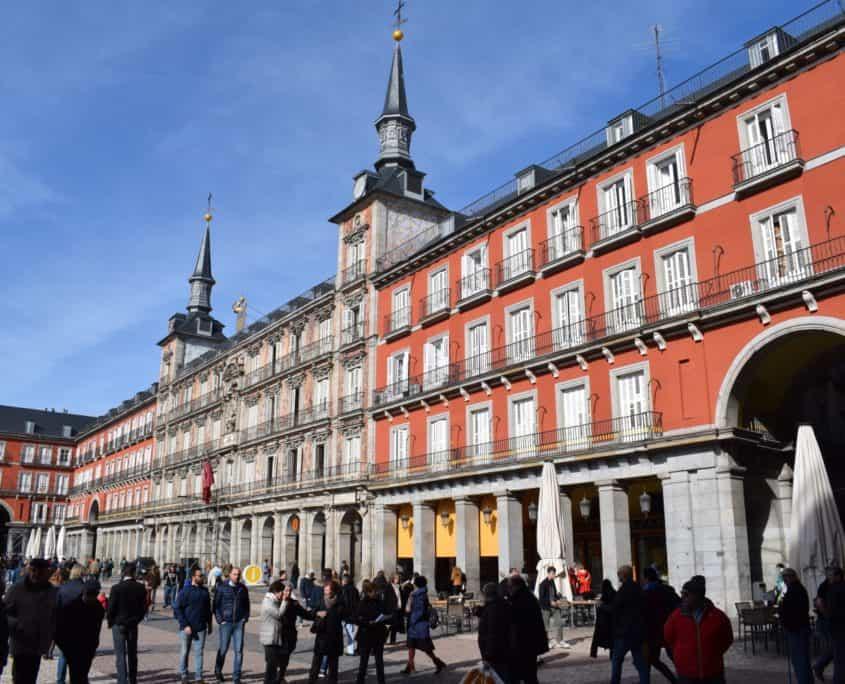 La Casa de la Panadería auf der Plaza Mayor