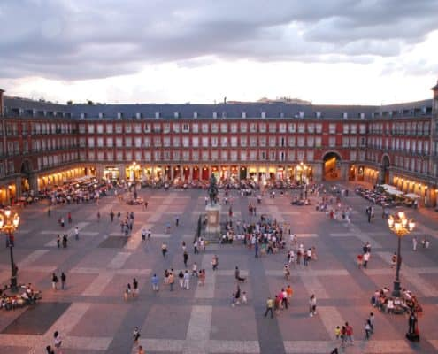 Plaza Mayor von Madrid