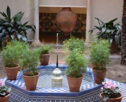 Andalusischer Innenhof im Sorolla-Museum