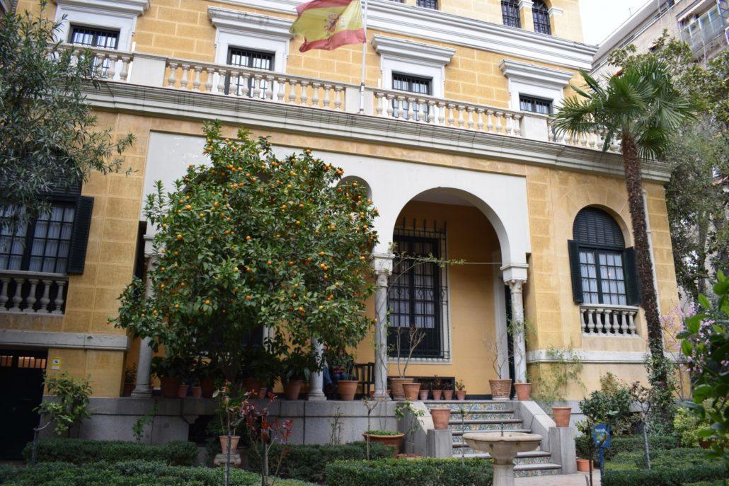 Ansicht des Sorolla-Museums