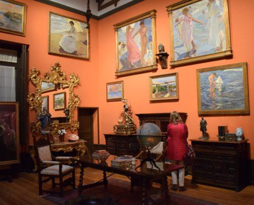Arbeitszimmer im Sorolla-Museum