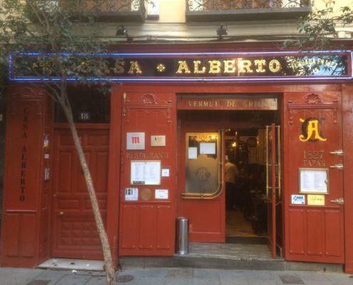 Die hundertjährige Tapa-Bar Casa Alberto