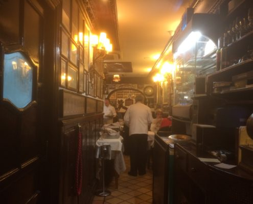 Casa Alberto - Durchgang zum Restaurant