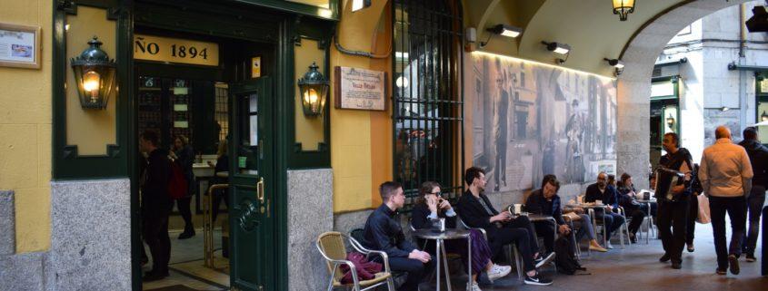 Chocolatería San Ginés - Eingang Richtung Calle Arenal