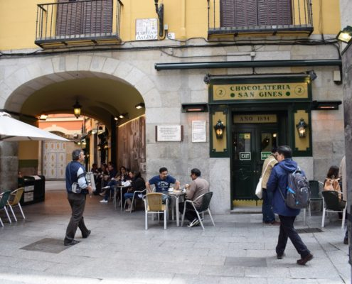 Chocolatería San Ginés - Terrasse