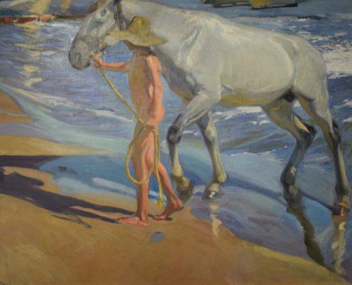 Das Bad des Pferdes