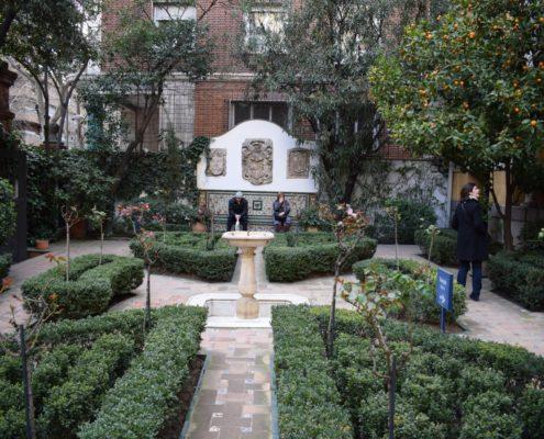 Gartenbereich 1 im Sorolla-Museum