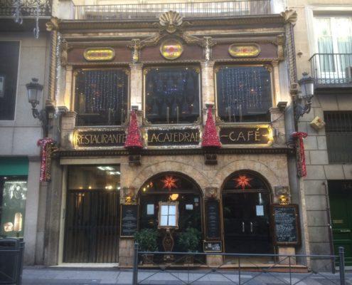Das Restaurant-Café La Catedral