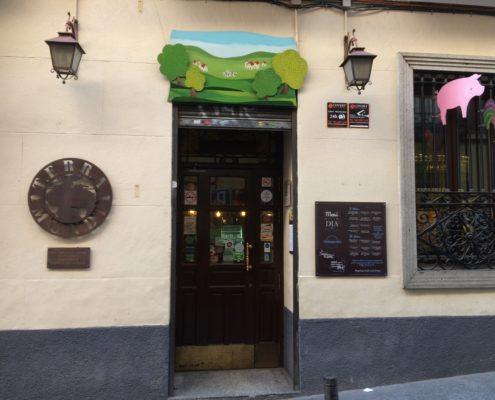 Eingang des Restaurants Terramundi