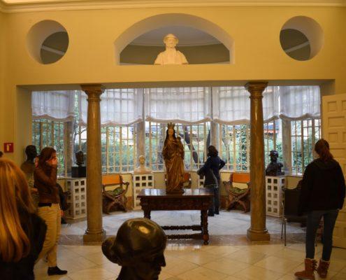 Wohnzimmer-Erker im Sorolla-Museum