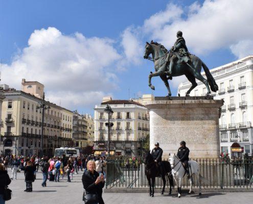 Denkmal Karl III - Puerta del Sol