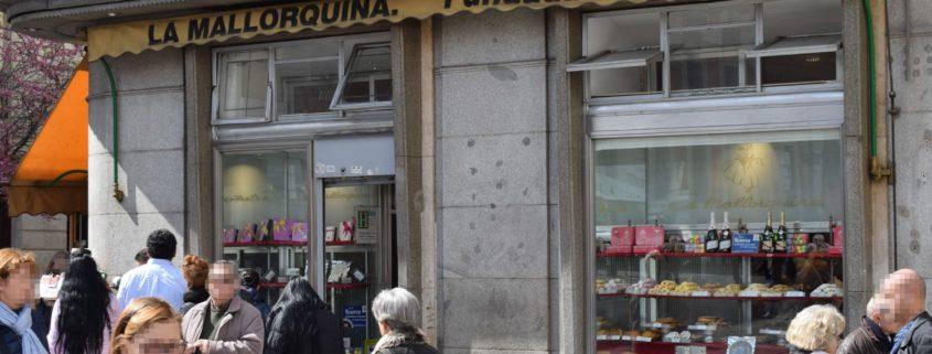 Eingang La Mallorquina - Puerta del Sol