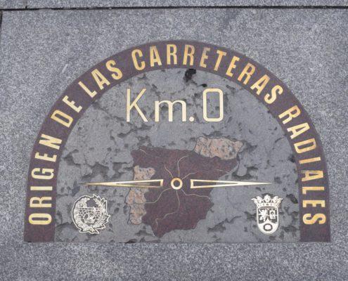 Null-Kilometrtafel auf der Puerta del Sol