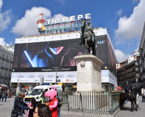 Reklame Tio Pepe - Puerta del Sol