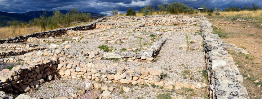 Archäologische Ausgrabung - römischer Häuserblock