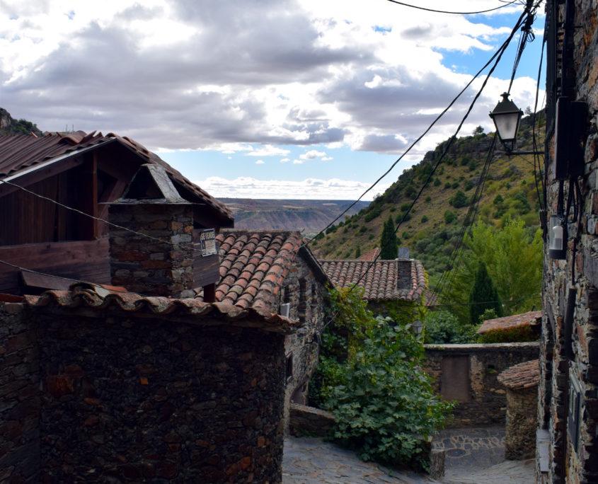 Blick auf die Backöfen in der calle del Despeñadero