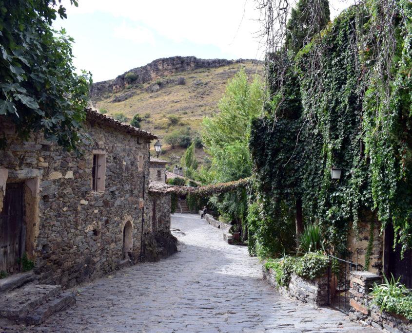 Blick zurück calle del Arroyo