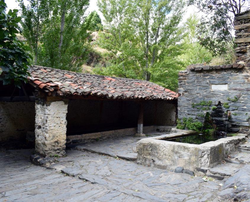 Brunnen und Waschplatz von Patones