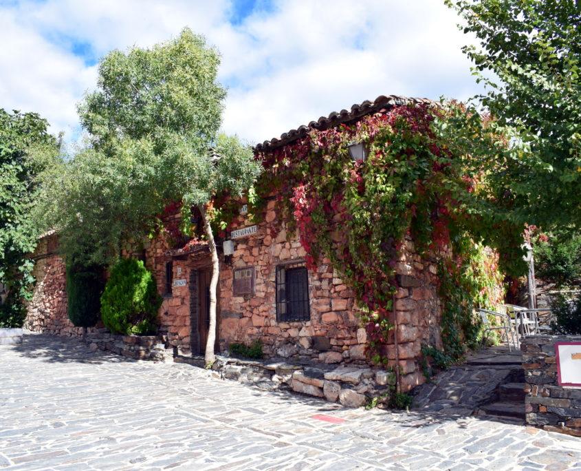 Restaurant El Chiscon am Eingang von Patones