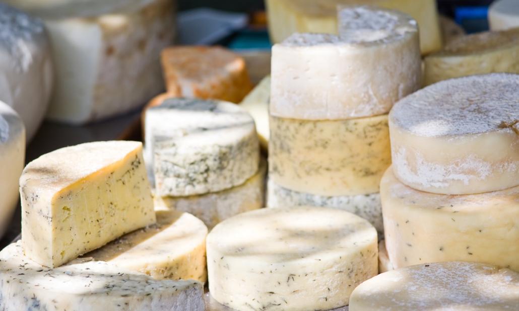 Käse aus der Natur Madrids