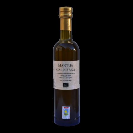 500 ml-Flasche Olivenöl der Sorte Arbequina
