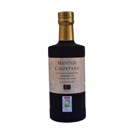 500 ml-Flasche Olivenöl der Sorte Cornicabra