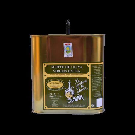 2,5 l-Kanister Olivenöl der Sorte Arbequina