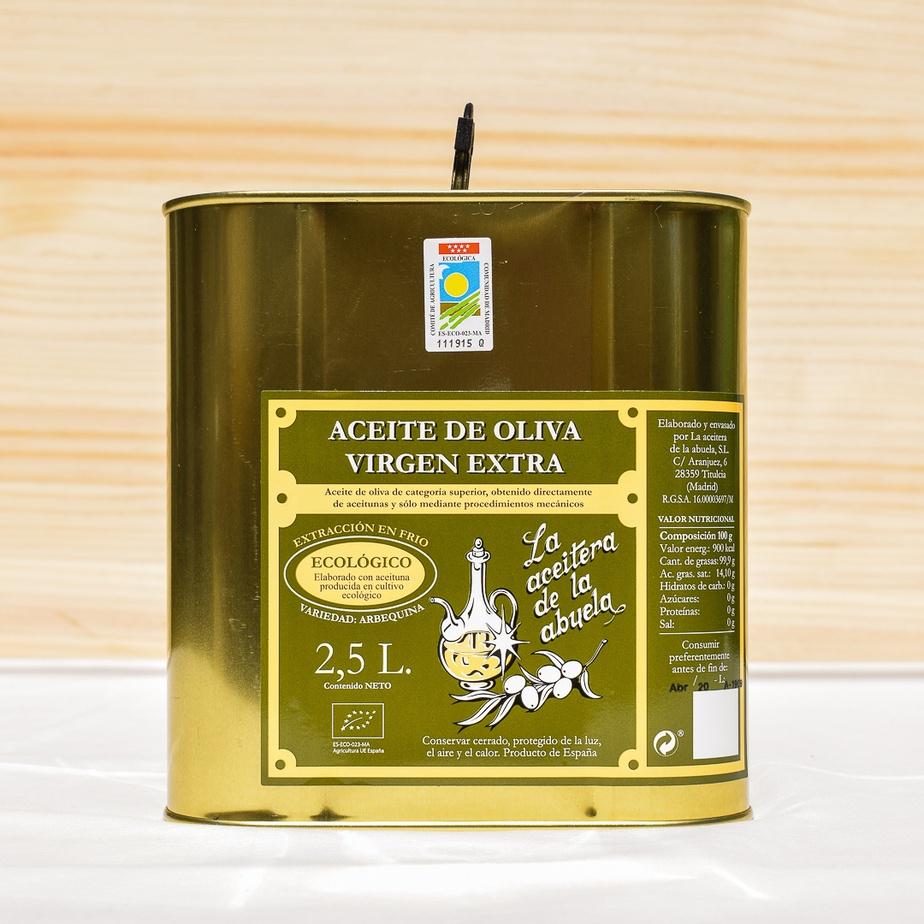2,5 l-Kanne natives Olivenöl extra der Sorte Arbequina