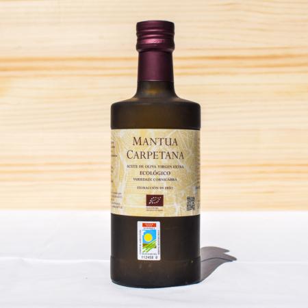 500 ml-Flasche natives Olivenöl extra der Sorte Cornicabra
