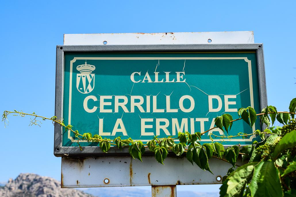 Der Straßenname war der erste Hinweis - Ausgrabungen El Rebollar, El Boalo