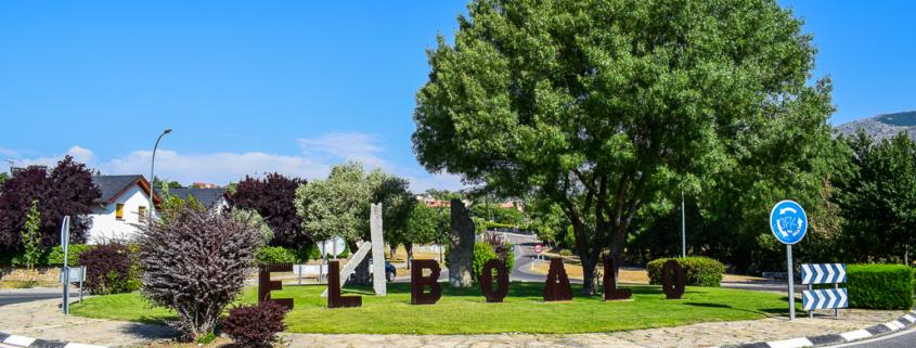Ortseinfahrt - El Boalo