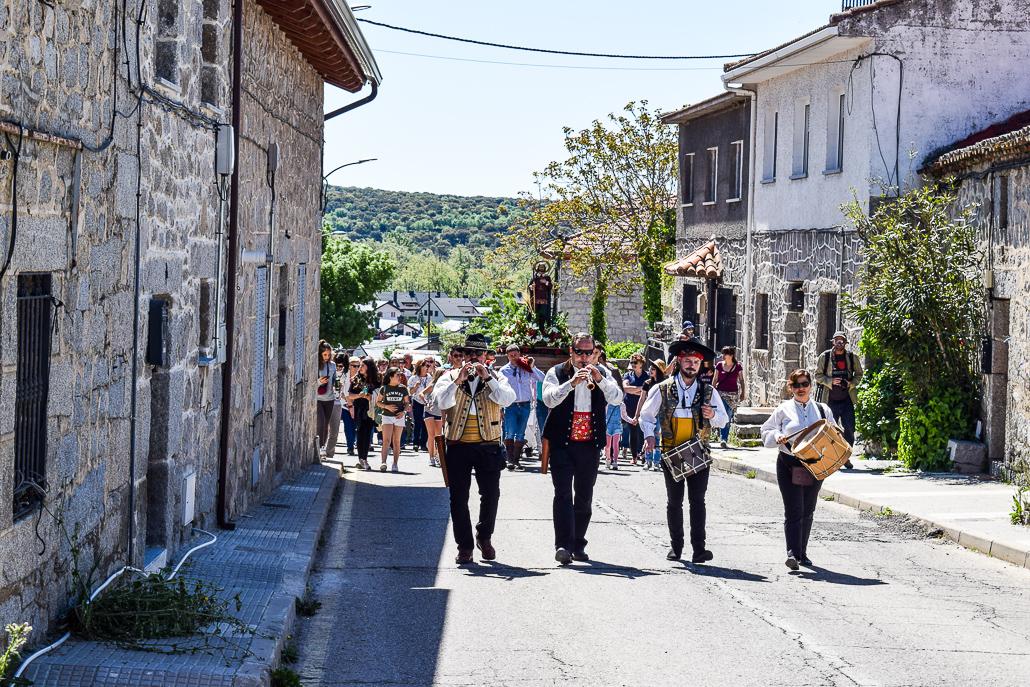 Prozession an Sankt Isidor der Landarbeiter - El Boalo