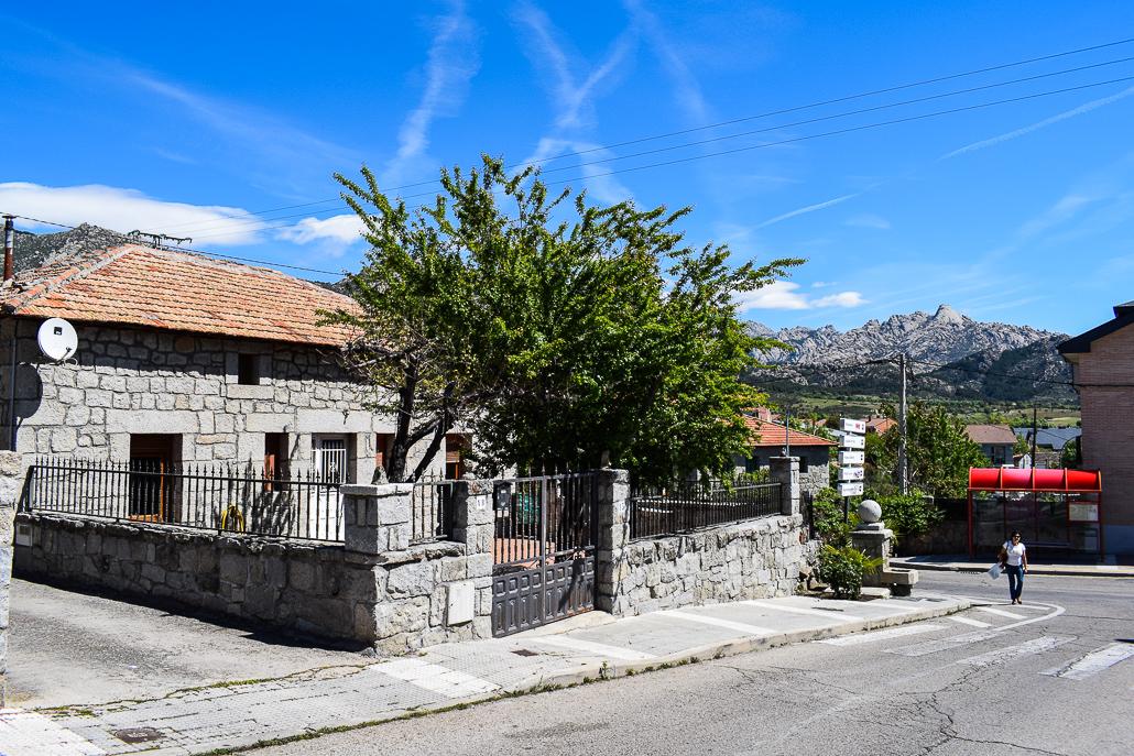 Traditionelles Haus in El Boalo