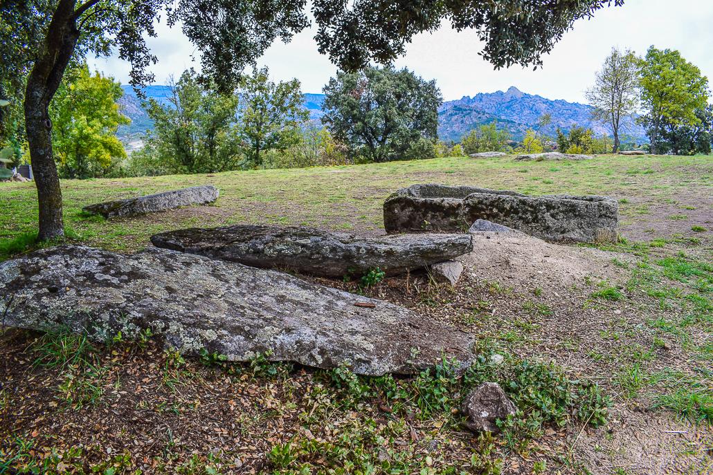 Westgotische Gräber aus dem 7. Jh. El Rebollar, El Boalo
