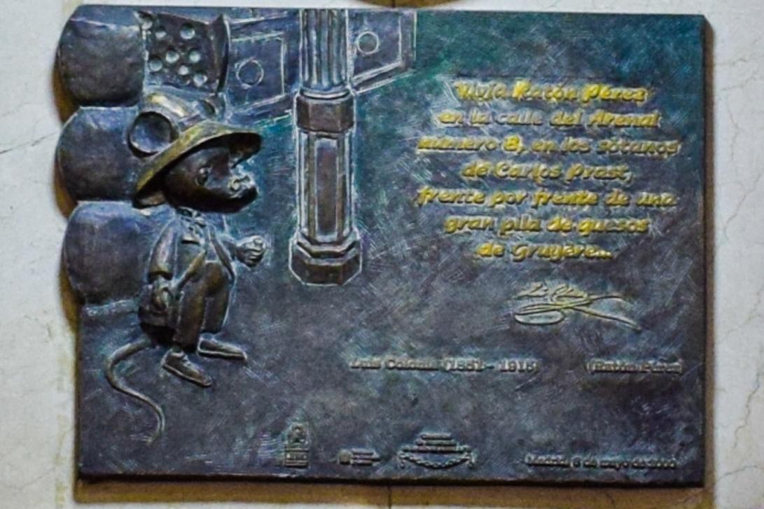 Gedenktafel des Ratoncito Pérez