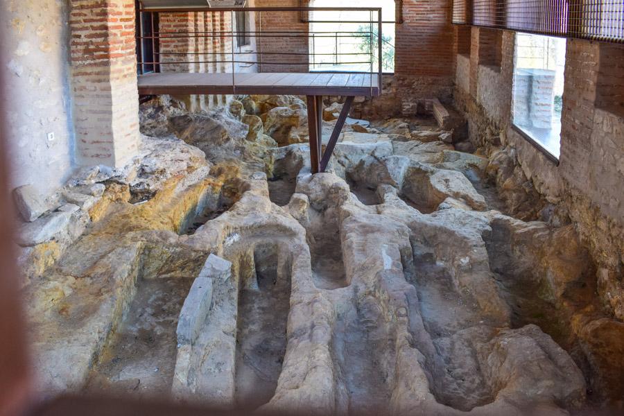 Nekropolis der Kirche Santo Domingo de Silos