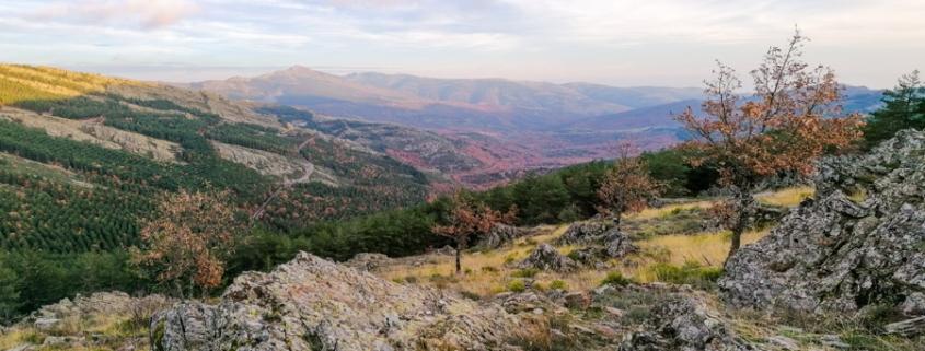 Biosphäre Sierra del Rincón Panorama Richtung Puebla