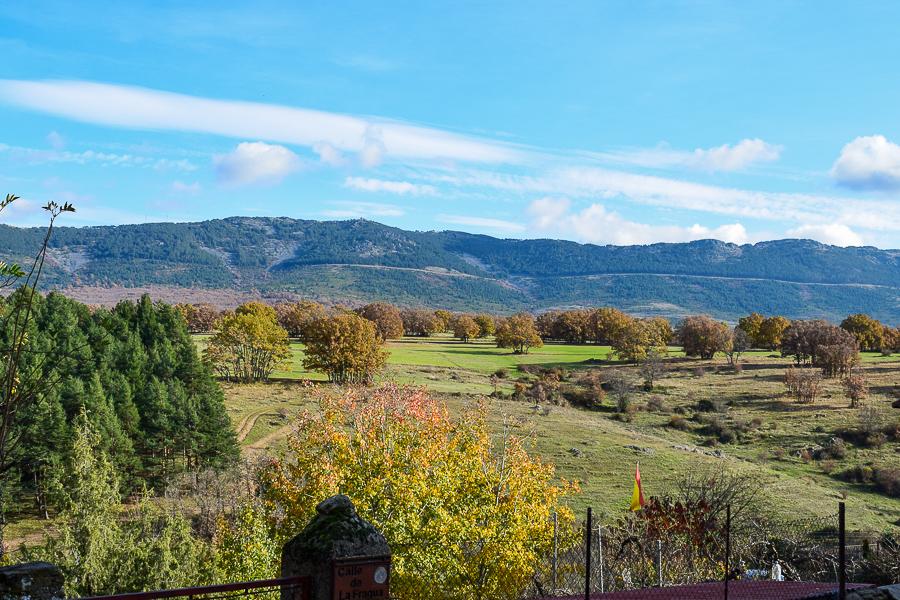 Die schöne Landschaft um Montejo de la Sierra lädt zum Wandern ein