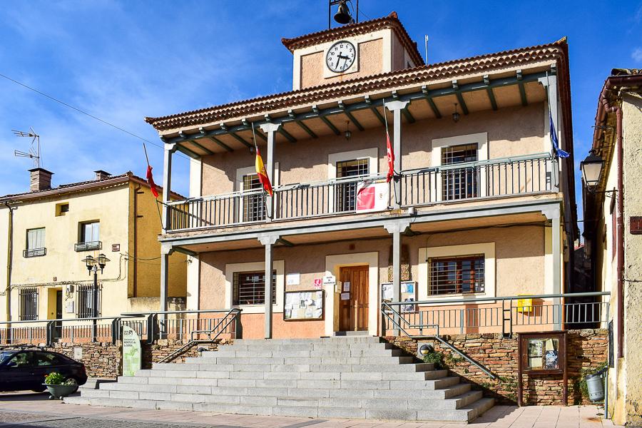 Das Rathaus von Montejo de la Sierra