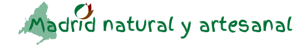 Logo Madrid natural y artesanal